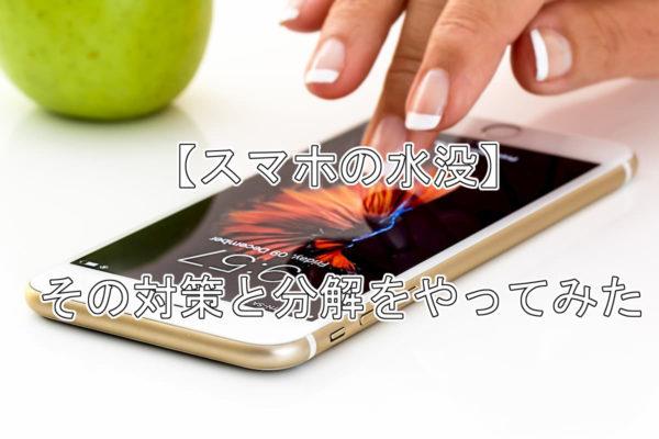 スマホを水没させたけど、分解して放置したら復活した話【ZenFone6】