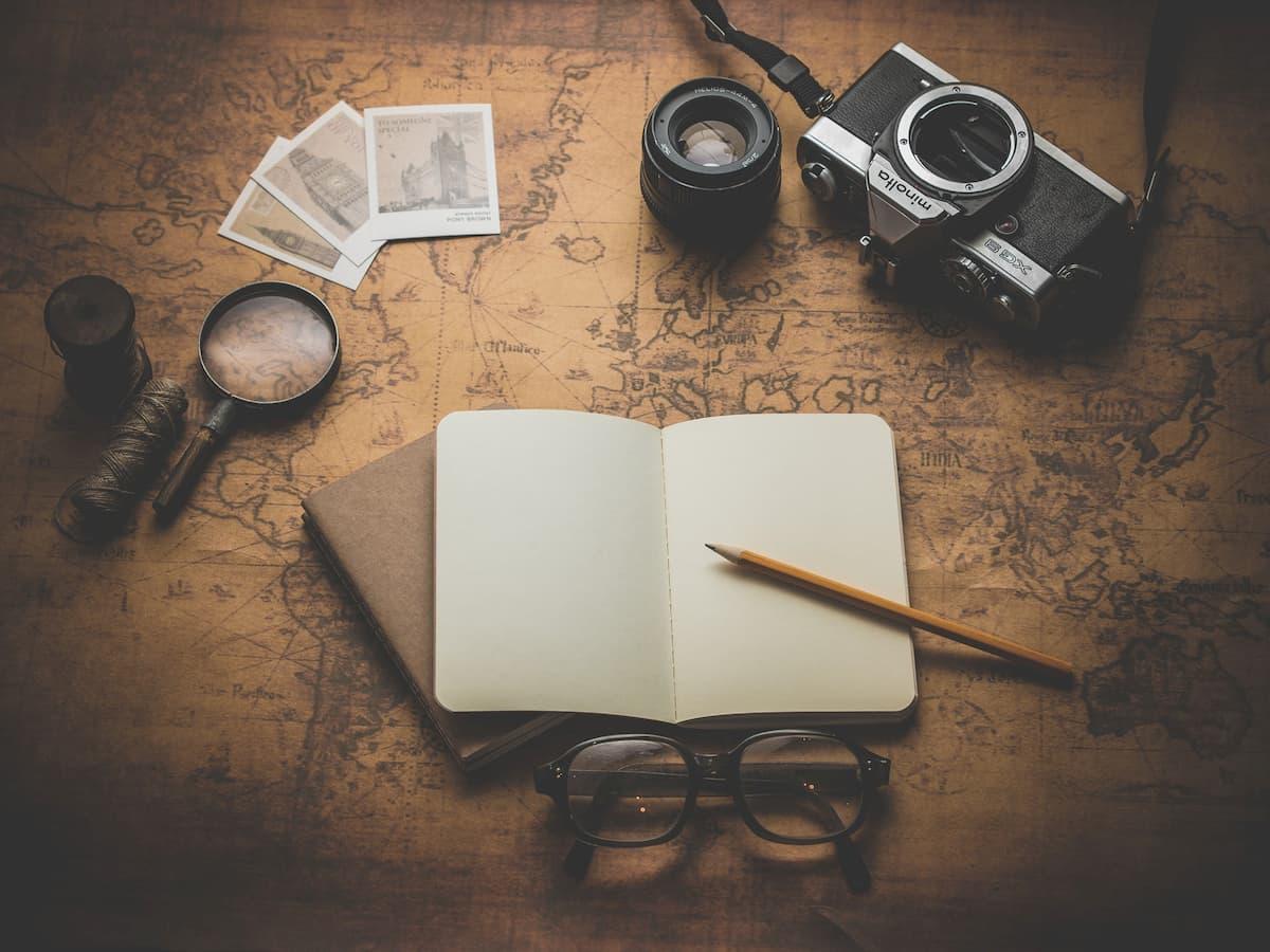旅行用ノート